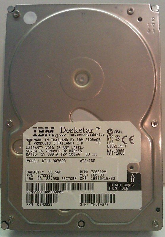 Hard Drives - OEC-8800/9800/9900 HARD DRIVE WITH YOUR SOFTWARE LOADED (5304649)