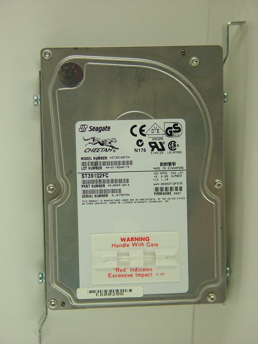 Hard Drives - OEC-9800 SCSI HARD DRIVE 9.2 GIGABYTE 9800 (00-901455-01) (00-877025-02)