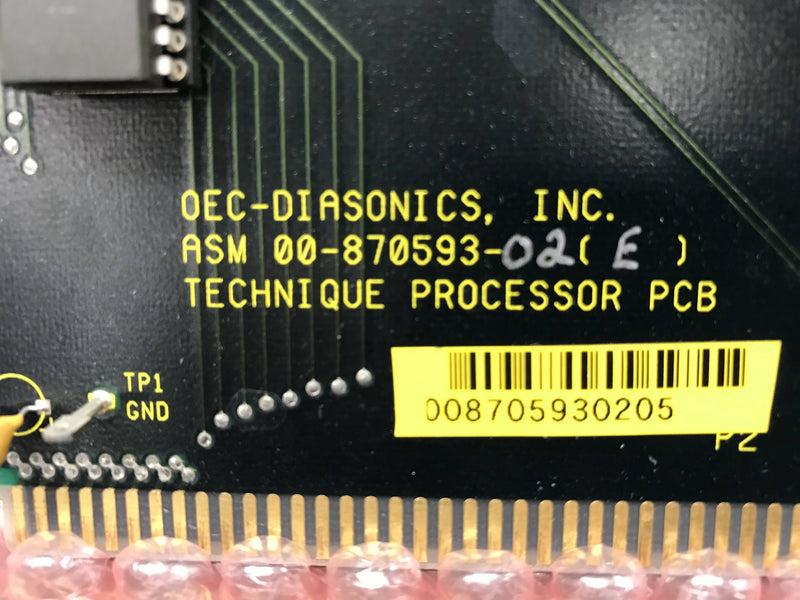 Technique Processor Board (00-870593-02) OEC 9400