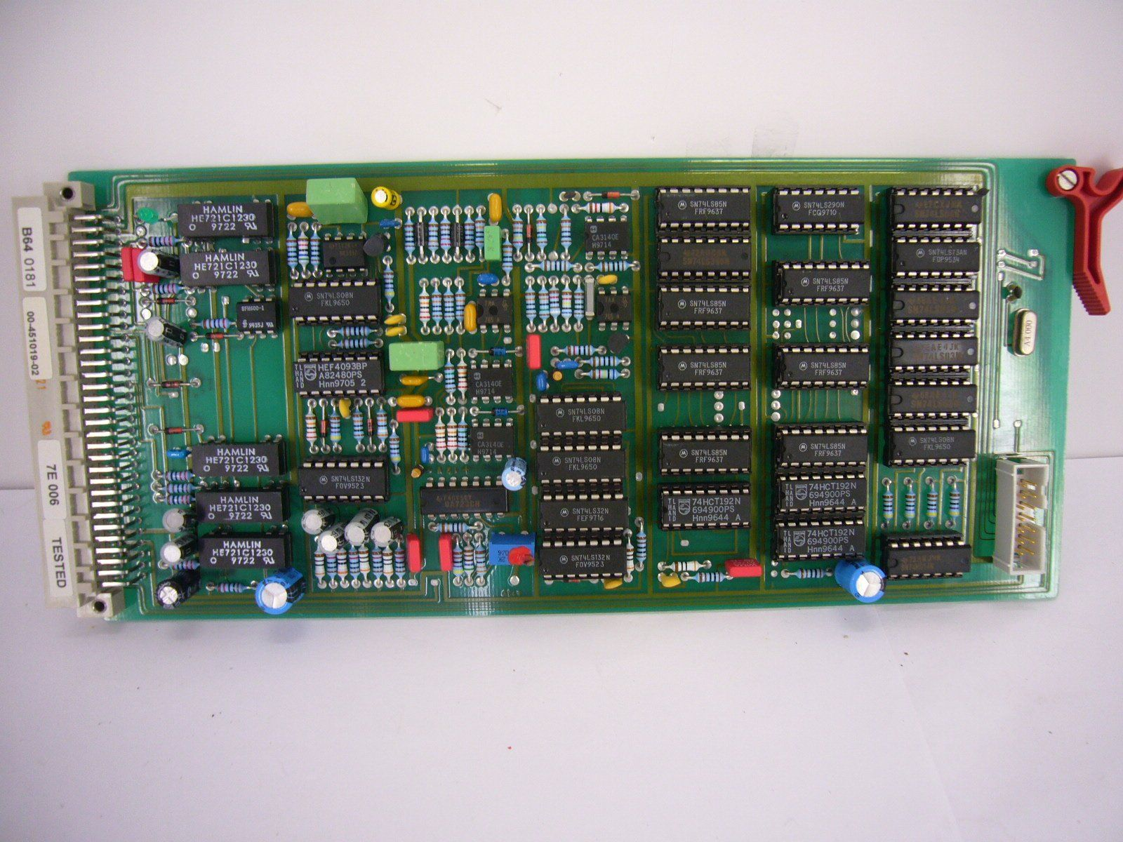 PCB Boards - OEC-7600/7700 COMPACT SERIES C-ARM B64 KV CONTROL & DISPLAY (00-451019-02)