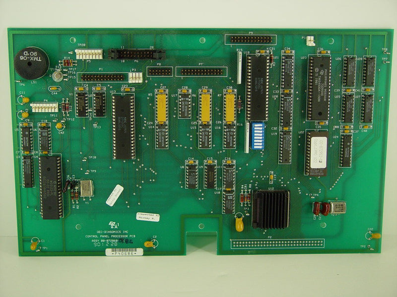 PCB Boards - OEC-9000/9400 CONTROL PANEL PROCESSOR (00-872860-03)