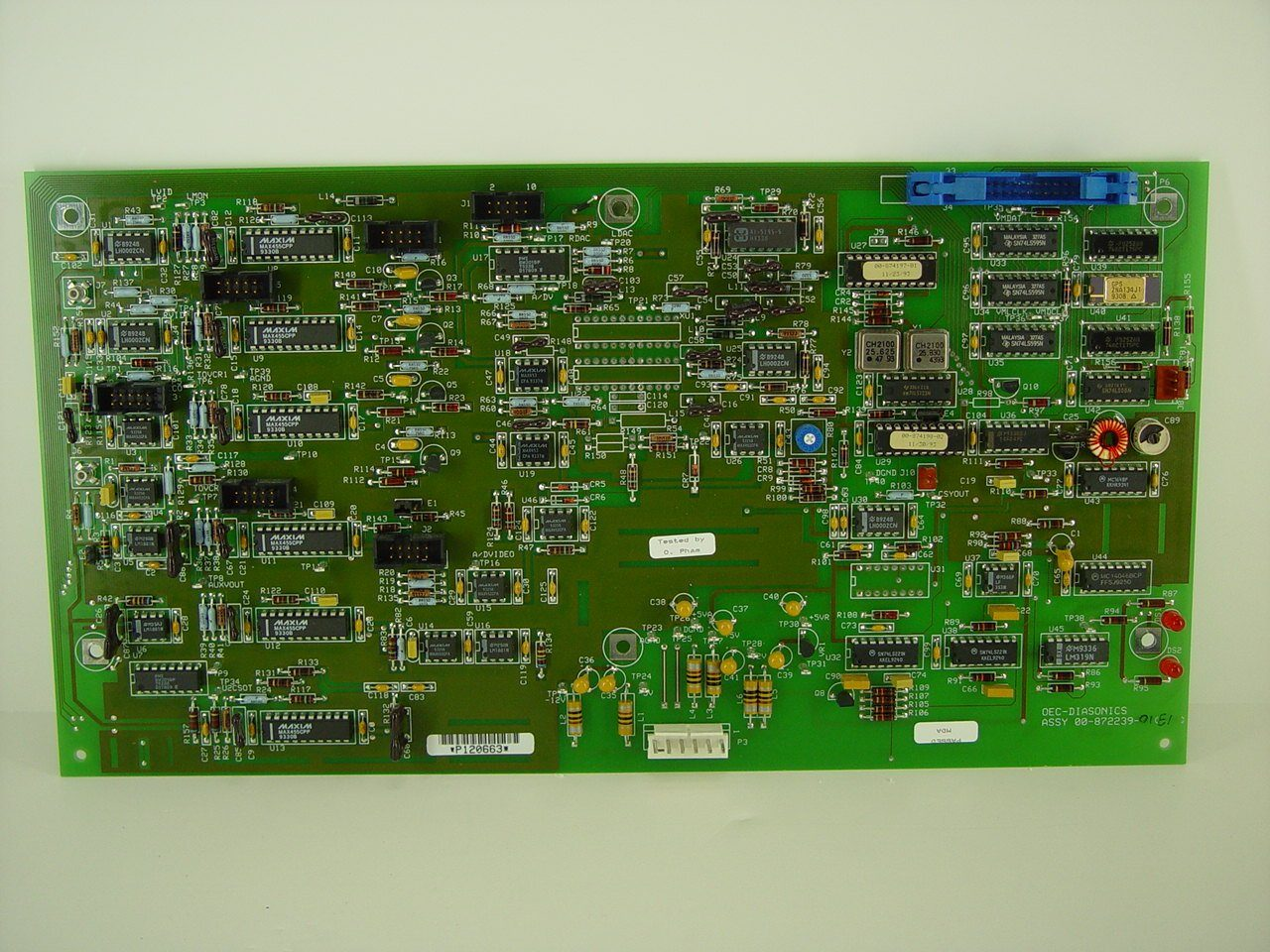 PCB Boards - OEC-9400 VIDEO SWITCHING PCB (00-872239-01)