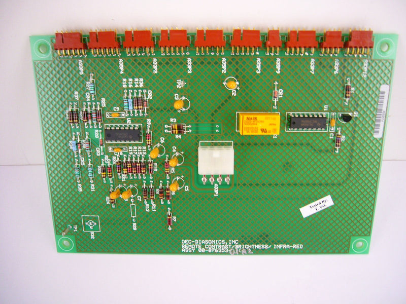 PCB Boards - OEC-9600 HIGH SCAN REMOTE CONTRAST (00-878353-01)