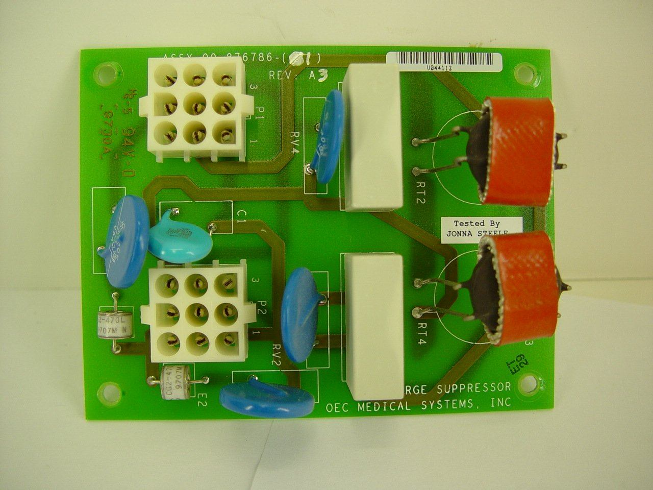 PCB Boards - OEC-9600 SURGE SUPPRESSOR (00-876786-01)