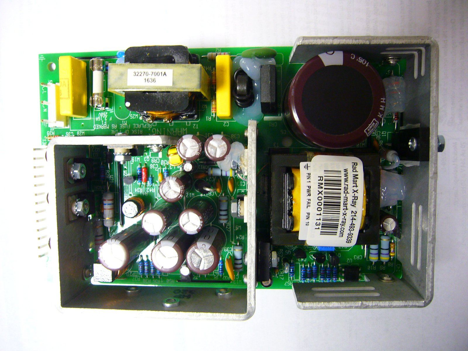 PCB Boards - OEC-9800/9900 GE PS1 POWER SUPPLY (00-901393-01) (5365841)