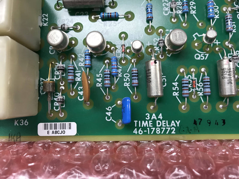 NEW Time Delay Board NEW (46-178772) GE