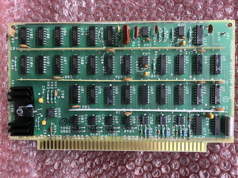 Program Selector Board (46-187362 G1-B) GE