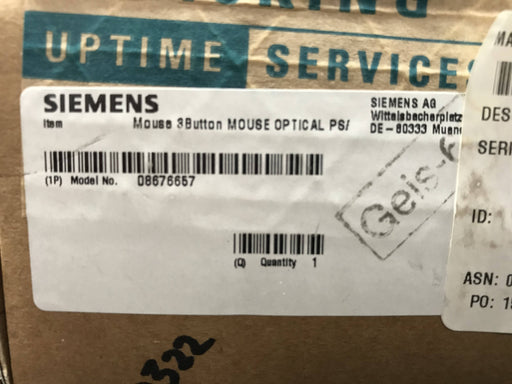 Mouse 3Button Optical PS/2 (08676657) Siemens