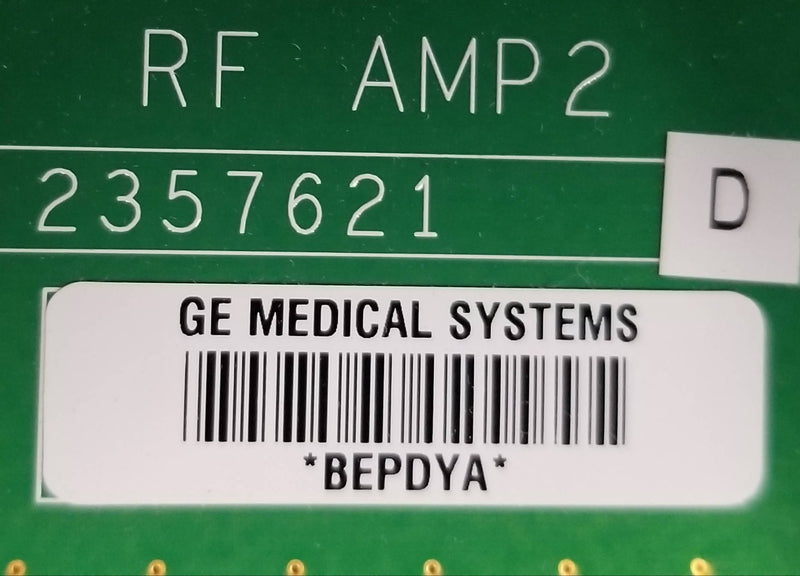 GE Logiq (9) Ultrasound RF AMP2 Board - Part