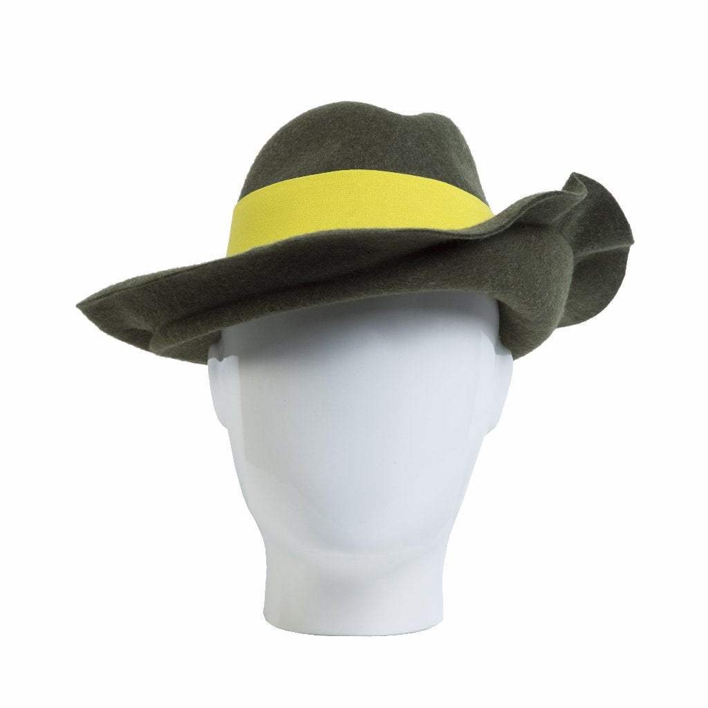 Fly Away Fedora, Olive