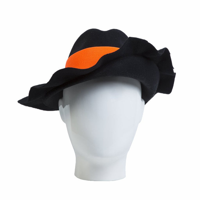 Fly Away Fedora, Black