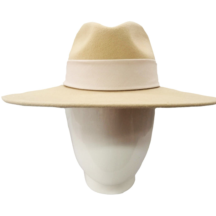 The Lauren- Camel Felt Fedora