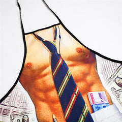 Sexy  Business man  printed Apron