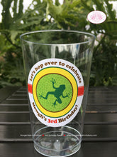 Load image into Gallery viewer, Rain Forest Birthday Party Beverage Cups Plastic Drink Girl Boy Rainforest 1st 2nd 3rd 4th 5th 6th 7th Boogie Bear Invitations Mowgli Theme