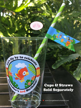 Load image into Gallery viewer, Rain Forest Birthday Party Beverage Cups Plastic Drink Girl Boy Rainforest Animals 1st 2nd 3rd 4th Boogie Bear Invitations Chandler Theme