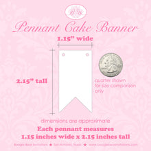 Load image into Gallery viewer, Disco Dance Party Pennant Cake Banner Topper Birthday Girl Boy 1st 2nd 3rd 4th 5th 6th 7th 8th 9th 10th Boogie Bear Invitations Donna Theme