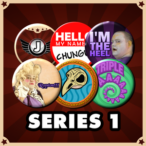 Jimquisition Series 1 Button Set