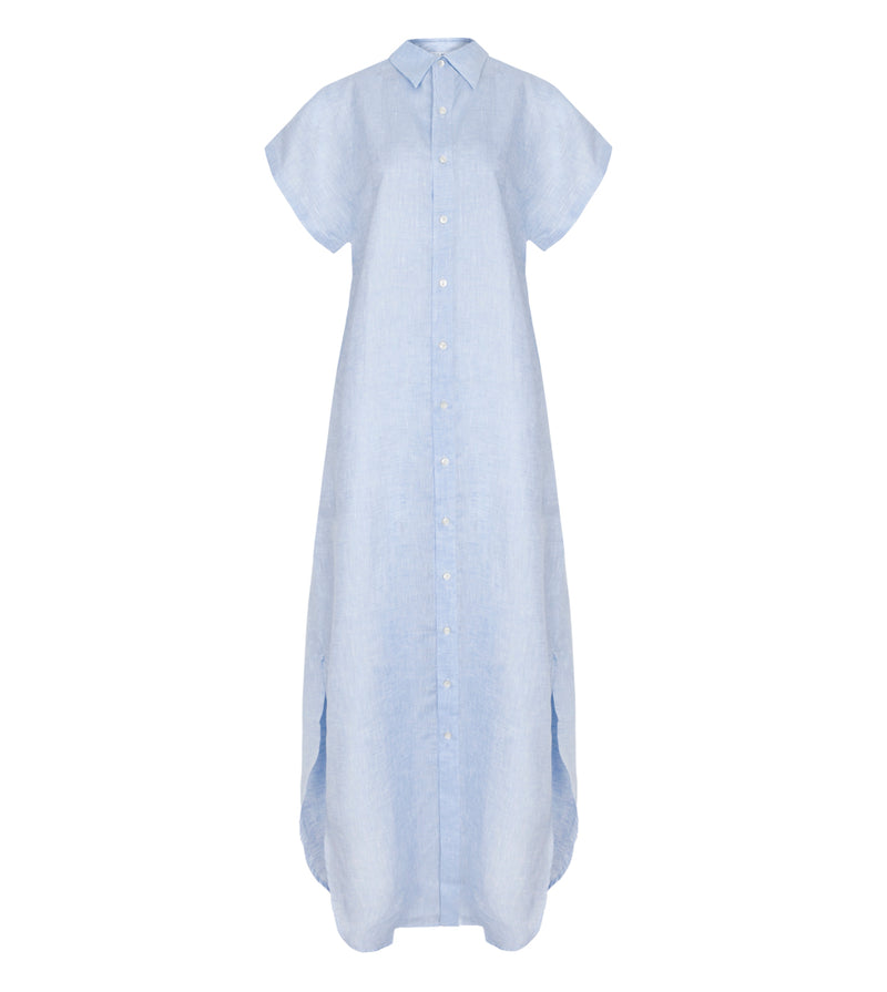 BEACH SHIRT DRESS