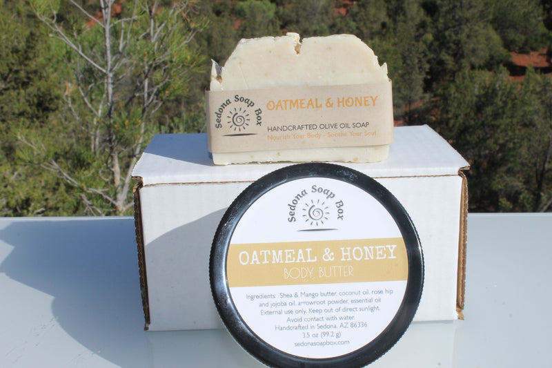 Mother's Day Oatmeal and Honey Body Butter and Soap Bundle