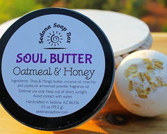Special Offer - Oatmeal Honey Body Butter and Bath Bomb