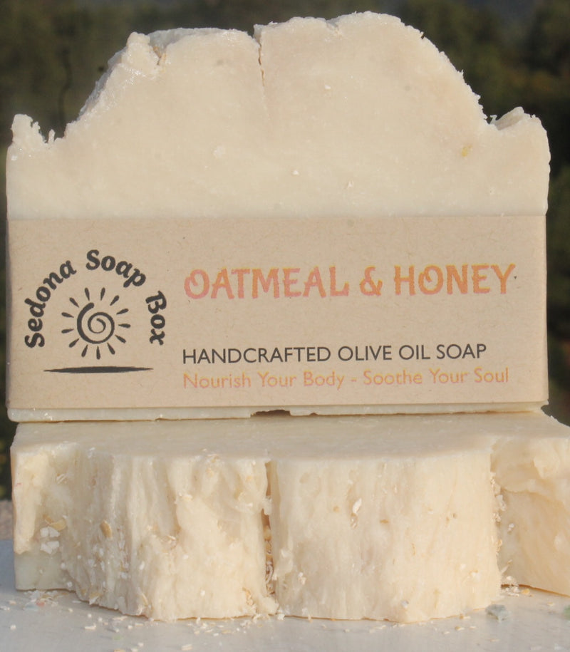 Bar Soap - Oatmeal & Honey