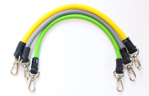 Resistance Bands - Complete Set (Level 1-3)