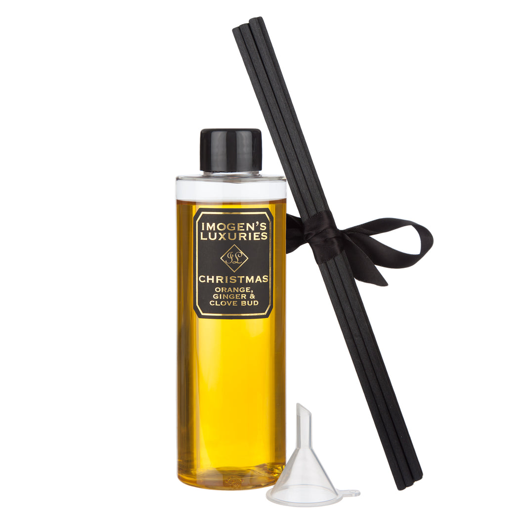 Christmas Reed Diffuser Refill: Orange, Cinnamon, Clove & Ginger
