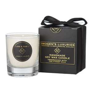 Lime & Basil 1 Wick Candle