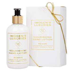 Revive Hand Lotion: Lemongrass, Grapefruit & Basil