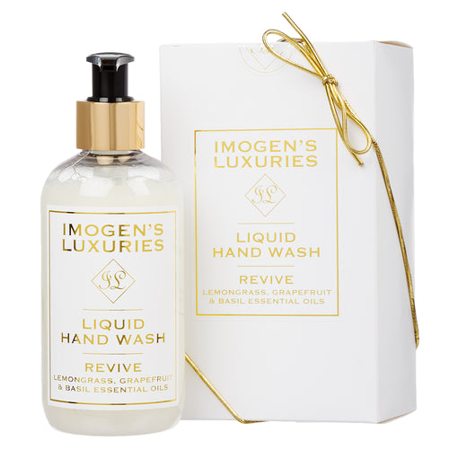 Revive Hand Wash: Lemongrass, Grapefruit & Basil
