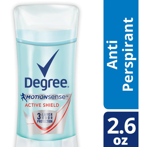 Degree Women MotionSense Antiperspirant Deodorant, Active Shield - 2.6 oz