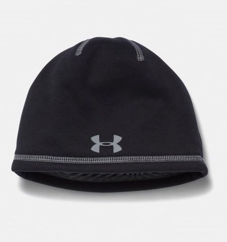 Under Armour Junior Black Storm Elements 2.0 Fleece Boys Beanie (You Donate: $1.25)