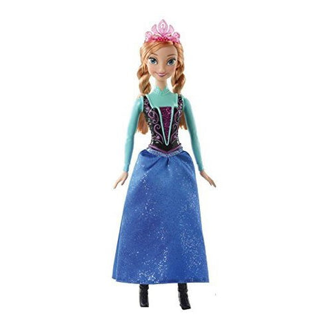 Mattel Disney Frozen Sparkle Princess Anna Doll