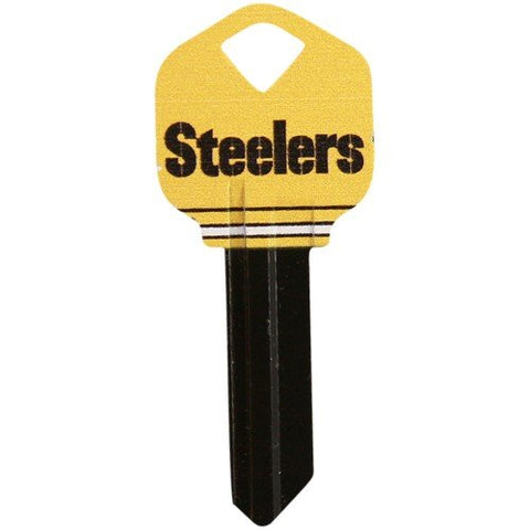 Pittsburgh Steelers Black-Gold House Key
