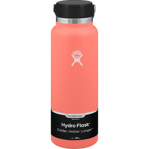 Hydro Flask Wide Mouth - Hibiscus 40 ounce