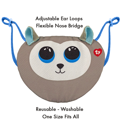 Kids TY Beanie Boo Face Mask - Slush
