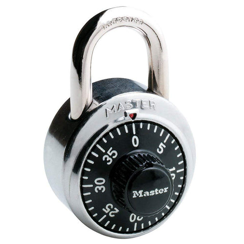 Master Lock 1500D Black Combination Padlocks
