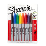 Sharpie Fine Point Asst Colors, 8 Count (You Donate: $.85)