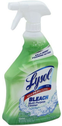 Lysol All Purpose Cleaner with Bleach, 32 Ounce