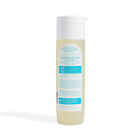 The Honest Company Purely Simple Fragrance-Free Shampoo + Body Wash | Tear-Free Baby Shampoo with Naturally Derived Ingredients | Sulfate- & Paraben-Free Baby Bath | 10 Fl Oz (Pack of 1)