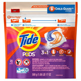 Tide Pods Scent He Turbo Laundry Detergent Pacs, Spring Meadow, 20 Count