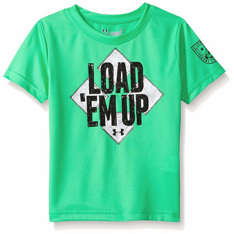 Under Armour Little Boys' Load 'Em up Short Sleeve Tee Size 5 (You Donate: $2.00)
