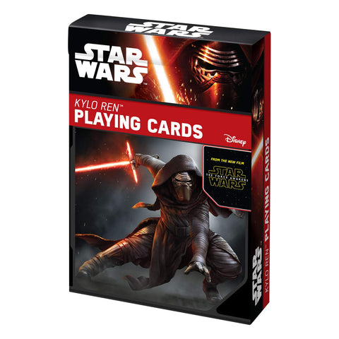 Star Wars Kylo Ren Playing Cards