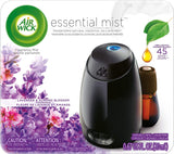 Air Wick Essential Mist, Essential Oil Diffuser, (Diffuser + 1 Refill), Lavender and Almond Blossom, Air Freshener