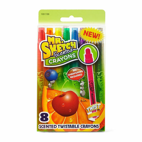 Mr. Sketch Scented Twistable Crayons, 8-Count (You Donate: $1.00)