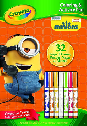 Crayola® Despicable Me™ Coloring & Activity Pad (You Donate: $.95)