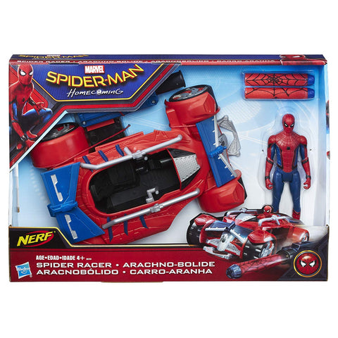 Spider-Man: Homecoming with Spider Racer