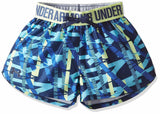 Under Armour Venetian Blue Play Up Shorts - Girls Size 6 (You Donate: $2.25)