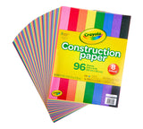 Construction Paper, 96 Count