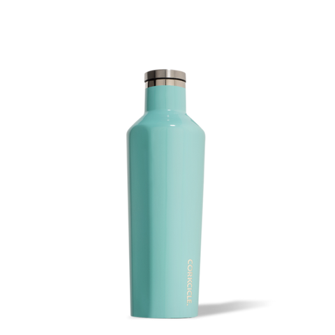 Corkcicle Origins Canteen 25 oz - Gloss Turquoise